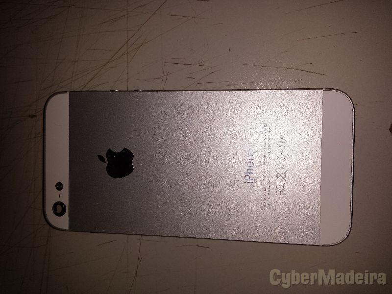 Iphone 5 - branco (peças)Carcaça / Capa traseira + batería