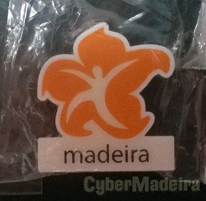 Pin promocional da Região Autónoma da Madeira