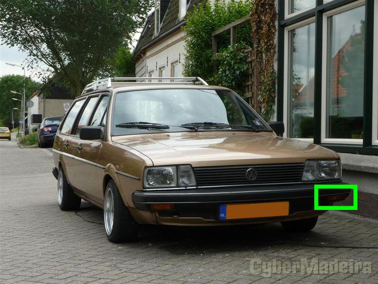 pisca original vw passat 32b golf jetta mk2 cyber madeira. Black Bedroom Furniture Sets. Home Design Ideas