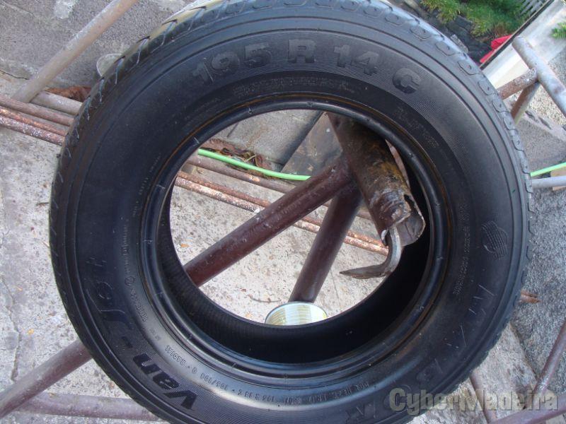 "1 pneu 195 R 14 hyundai h 1195 100 14"""