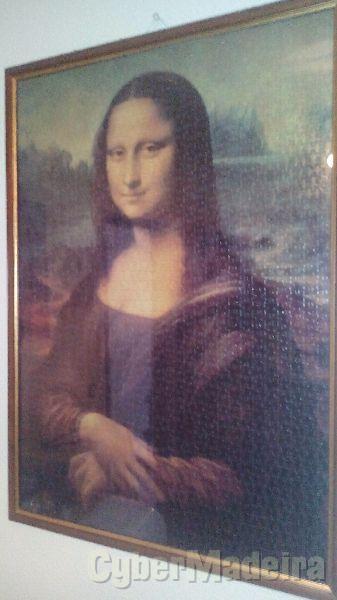 Puzzle emoldurado - Mona Lisa