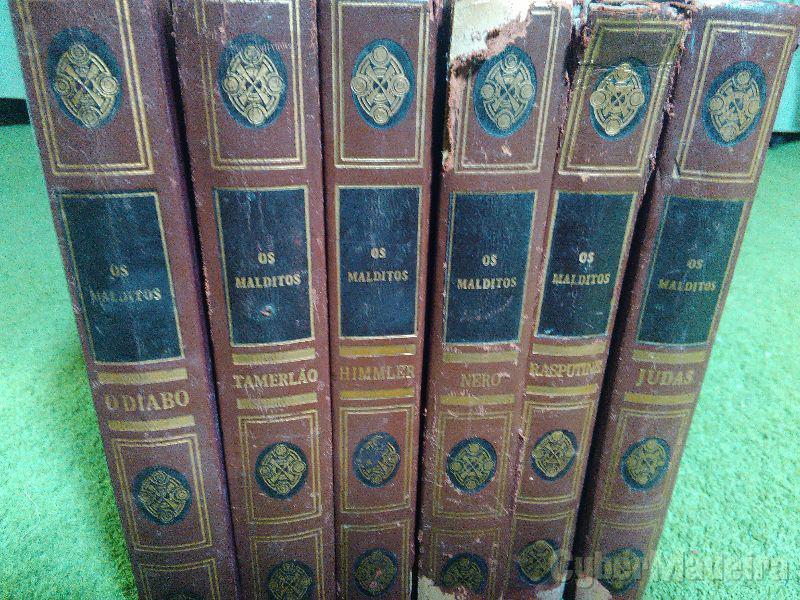 Livros raros os Malditos