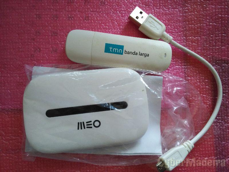 Internet móvel router 21,6MBS + pen da meo .
