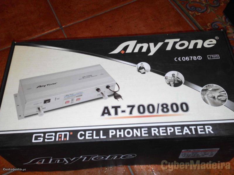 Repetidor gsm p melhorar sinal telemovel