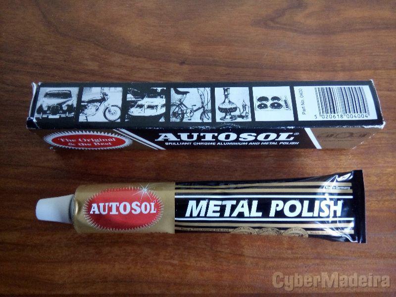 Polimento metais cromados inox alumínio