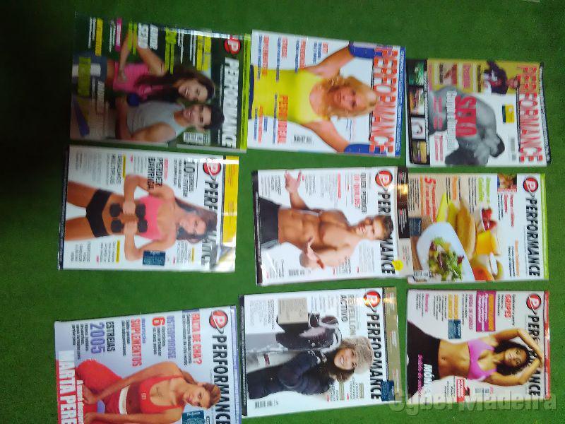 Revistas performance novas