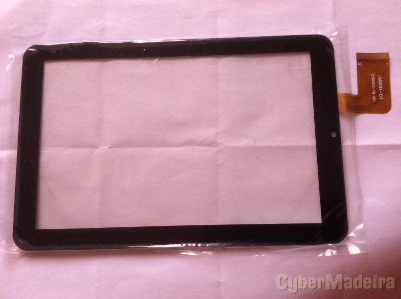 Vidro tátil touch screen JM80H-01 JM80H01Outras