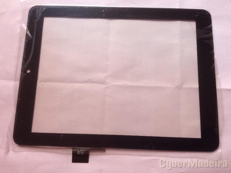 Vidro tátil touch screen FPC-CTP-0800-014-1   198*148Outras