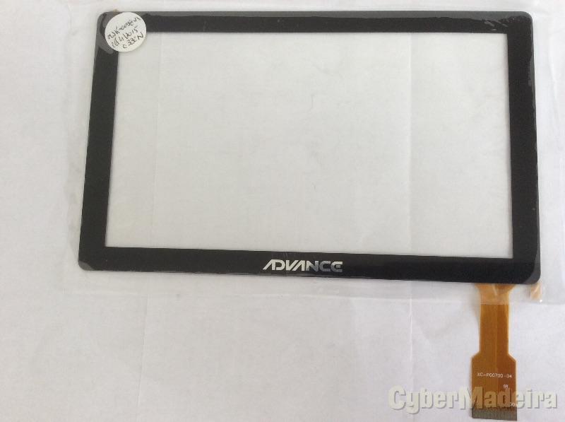 Vidro tátil touch screen XC-PG0700-04Outras