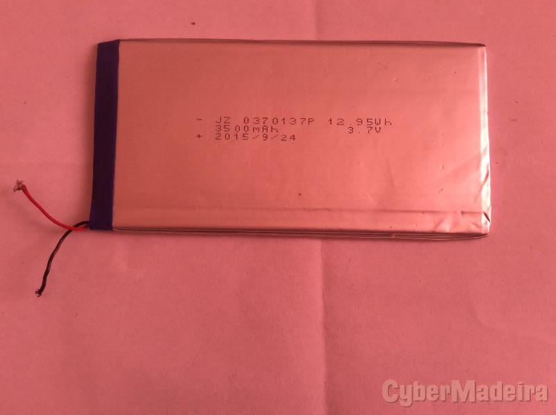Bateria Tablet 3,7V 3500mAh  6,9X13,8cmOutras