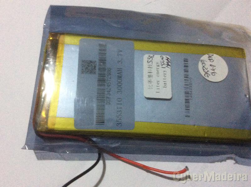 Bateria Tablet 3000mAh 5,5X11,2cmOutras