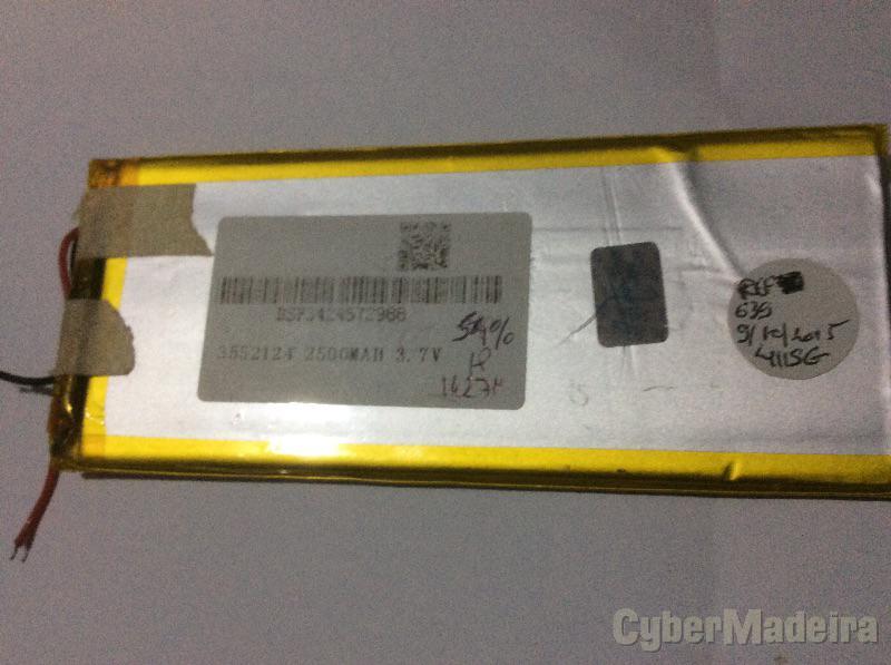 Bateria Tablet 3,7V 2500mAhOutras