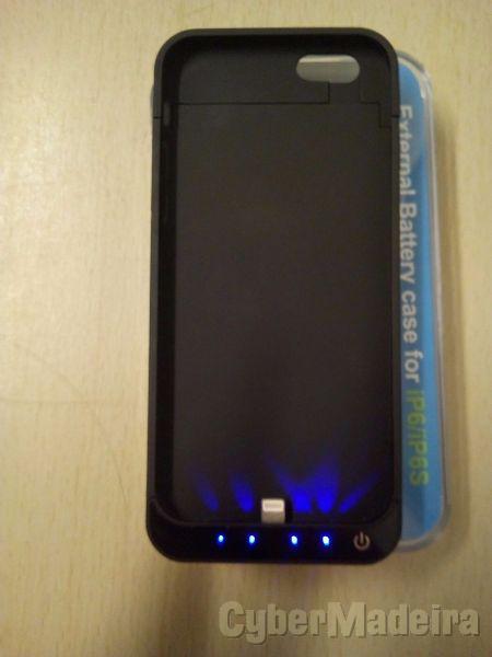 Capa protetora powerbang, 5800MAH  iphone 6 6S
