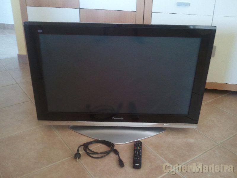 Televisor panasonic TH-42PX730E plasma com pequeno problema PLASMA SIM