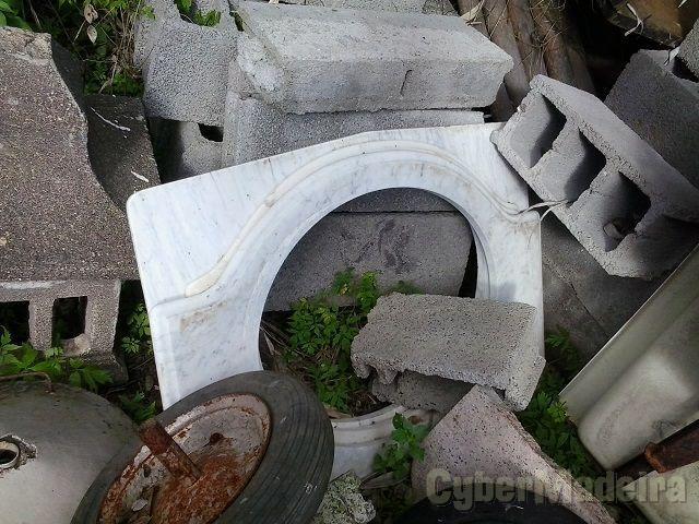 Tampos de mármore para pias