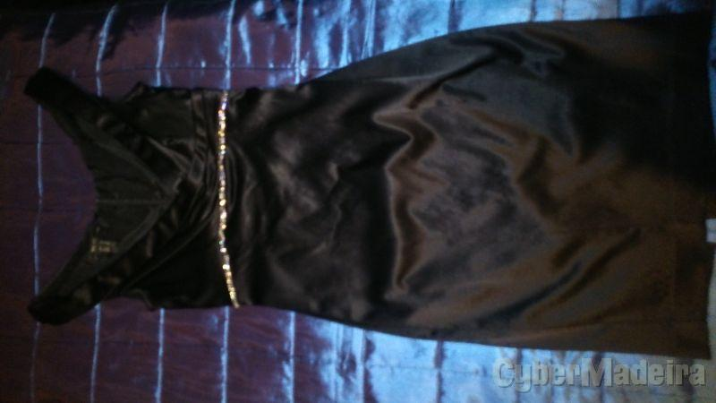Vestido de Cetim Mango