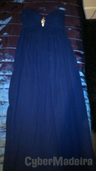 Vestido de festa Azul Real
