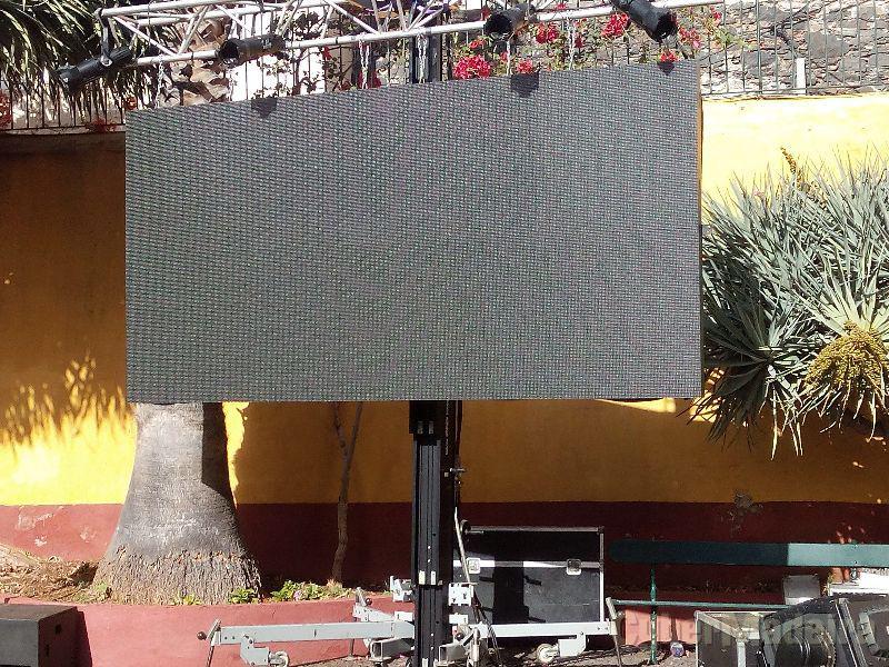 Ecrã de leds